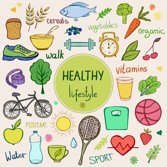 Adopt a Happy lifestyle by living Healthy