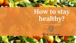 5 tips to stay healthy by adapting a healthy lifestyle