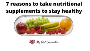 7 reasons to take nutritional supplements to stay healthy - blog banner