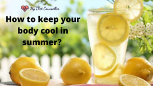 How to keep your body cool in summer?