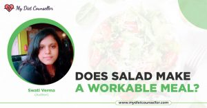 Does salad make a workable meal